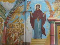 inside Irkutsk church