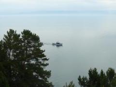 Baikal and boat
