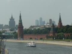 Kremlin from the river