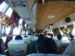 Bus from Taftan - inside