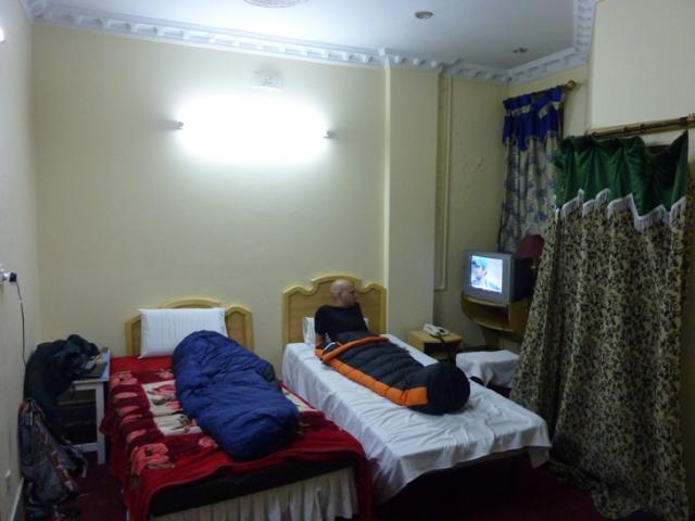 Lahore - our sick room