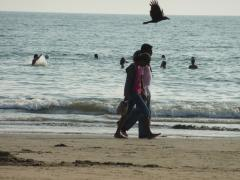 Palolem Beach, Goa, people