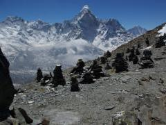 On the top of Chhukung Ri 2 (Ama Dablam)