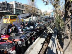 Teheran, the motorcycle city