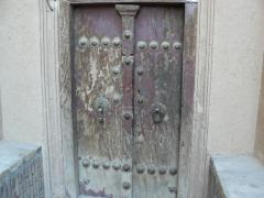 Yazd, the doors in the old city
