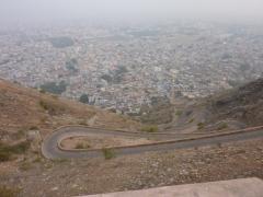 Jaipur, the way to the fort